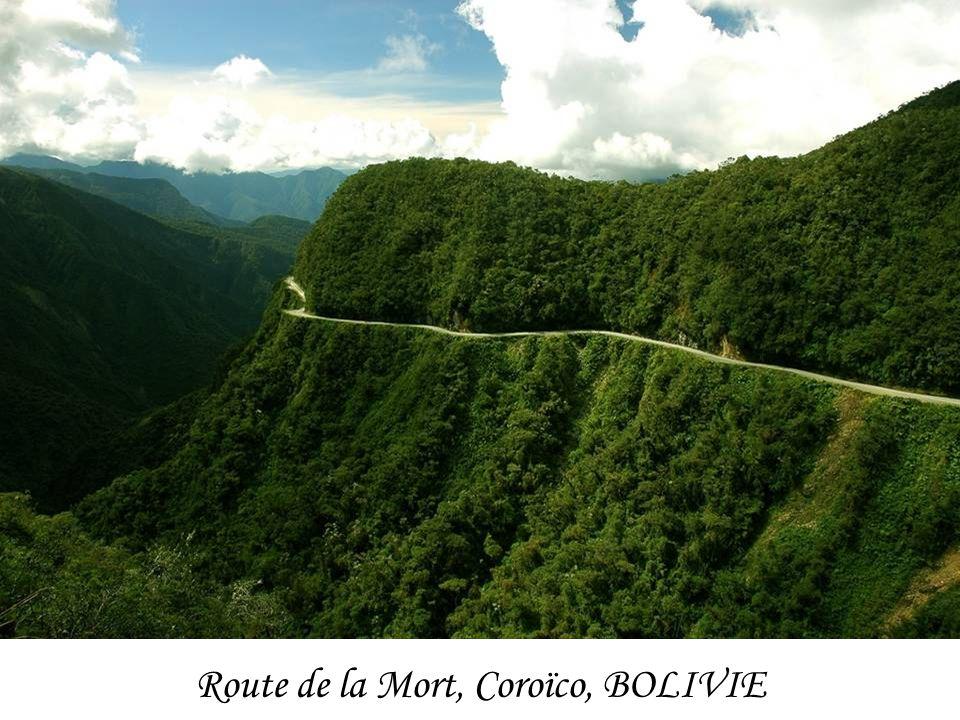 Route de la Mort, Coroïco, BOLIVIE