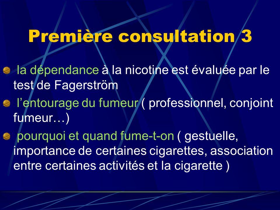 Le sevrage tabagique Est difficile, les échecs sont fréquents Assurer une consultation d'aide au sevrage tabagique demande de la constance, de la disponibilité, et de la modestie