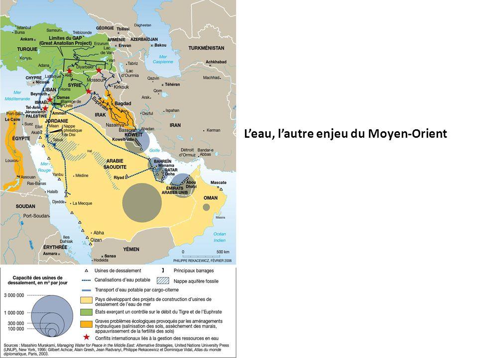 L'eau, l'autre enjeu du Moyen-Orient