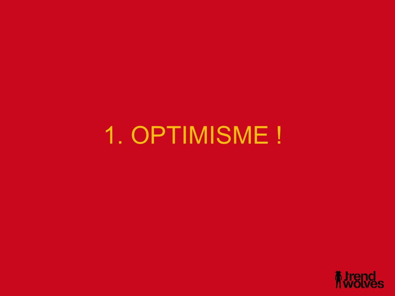 • Avenir individuel contre l'avenir en général : optimiste quand il s'agit de l'avenir individuel