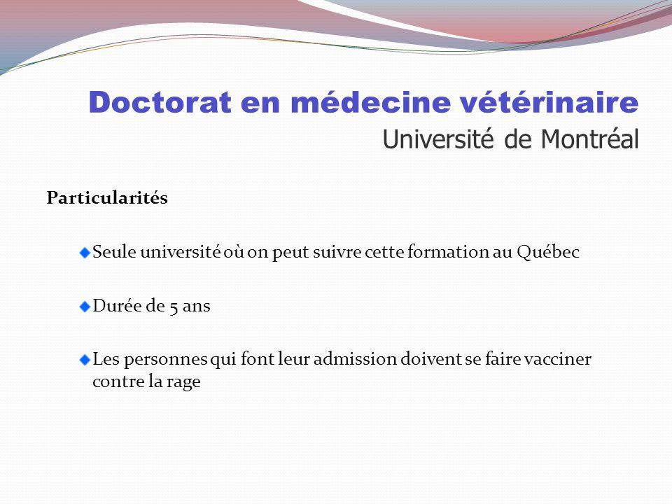 Doctorat en médecine vétérinaire Université de Montréal Sélection: 60% Cote R 40% Entrevue Cote R Dernier admis 32.5 Entrevue Cent personnes sont invi
