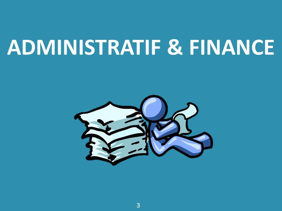 www.cequejeveuxfaireplustard.com ADMINISTRATIF & FINANCE 3