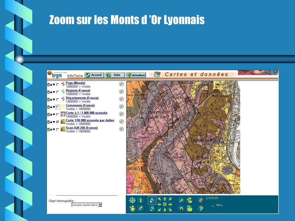 InfoTerre le SIG en ligne du BRGM http://infoterre.brgm.fr/
