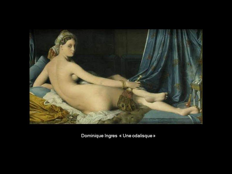 Dominique Ingres « Une odalisque »