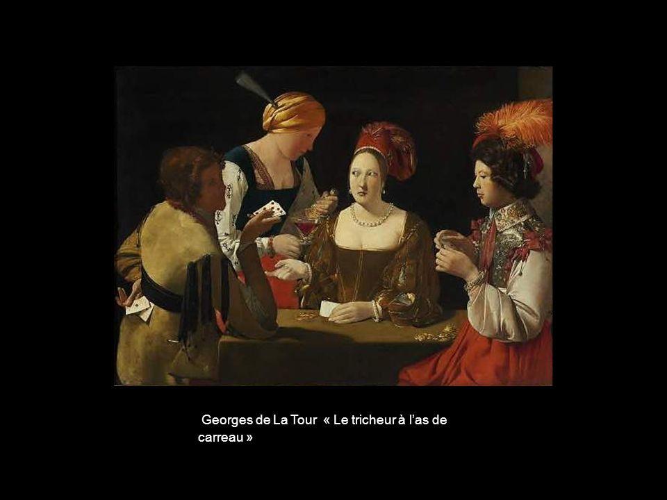 Georges de La Tour « Le tricheur à l'as de carreau »