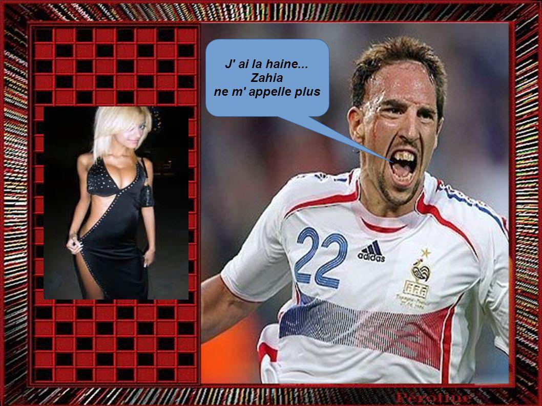 J ai la haine... Zahia ne m appelle plus