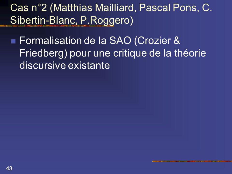 43 Cas n°2 (Matthias Mailliard, Pascal Pons, C.