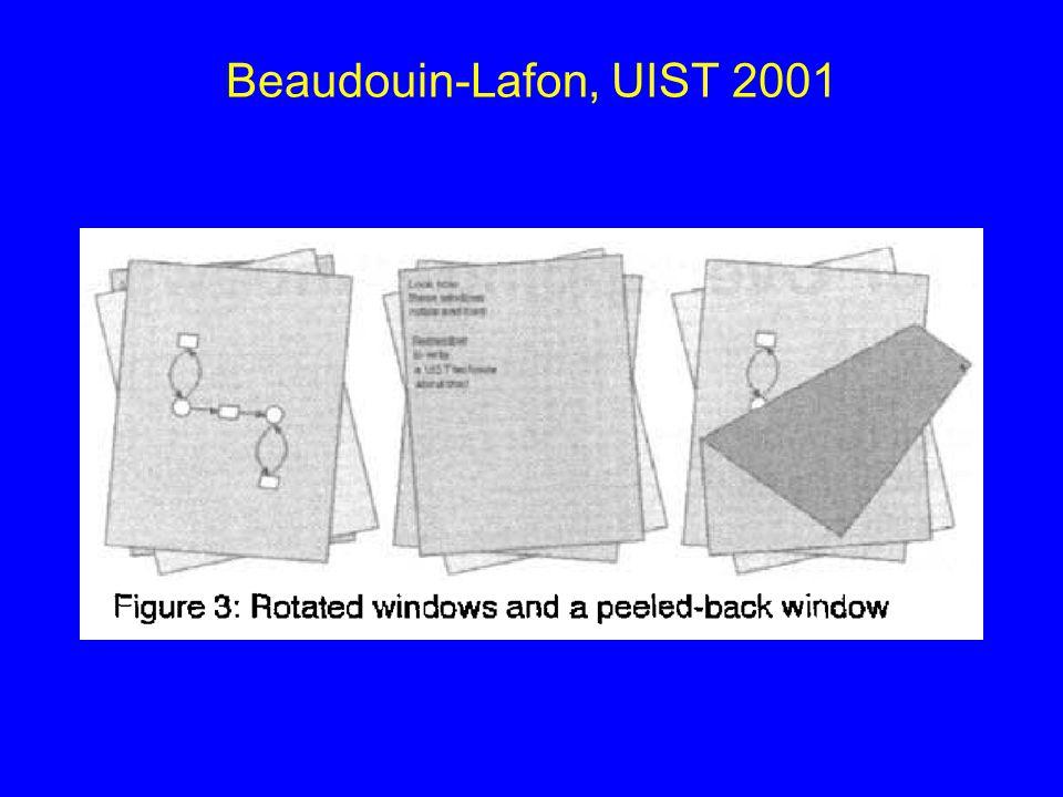 Beaudouin-Lafon, UIST 2001