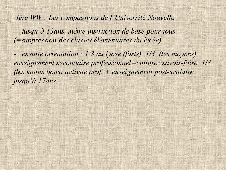 1852 : La bifurcation de Fortoul Cause : l'économie réclame plus d'élites industrielles et commerciales que le lycée classique ne forme pas. Lycée à 2