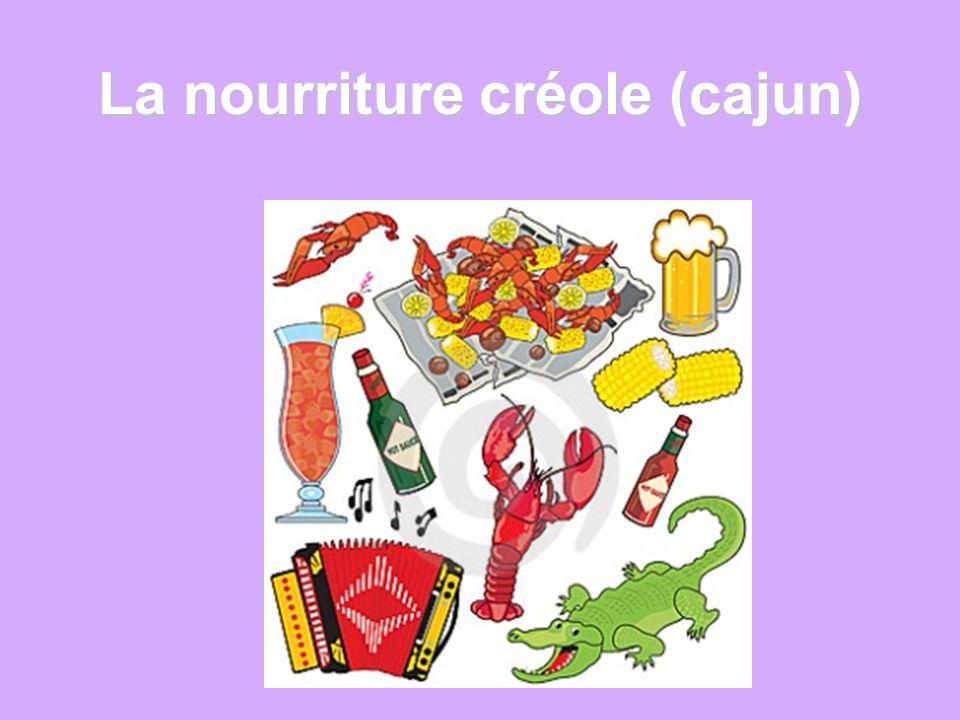 La nourriture créole (cajun)