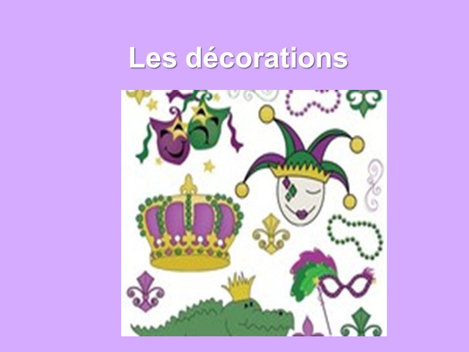 Les décorations