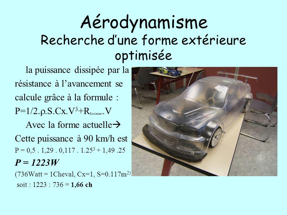 Aérodynamisme Carénage des soubassement L'aérodynamisme peut aussi être amélioré par des carénage de soubassement.