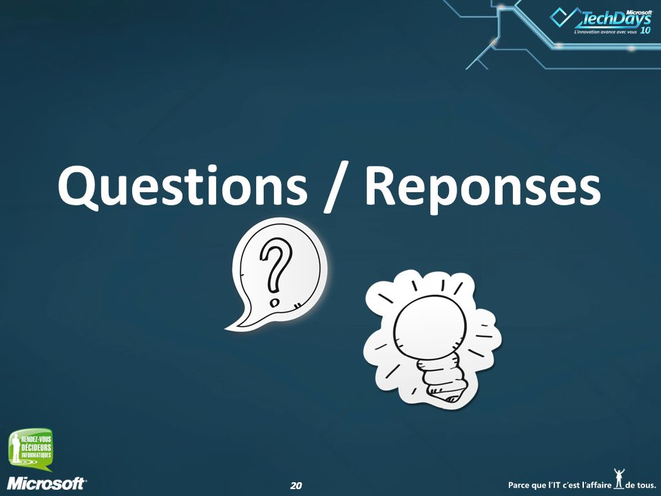 20 Questions / Reponses