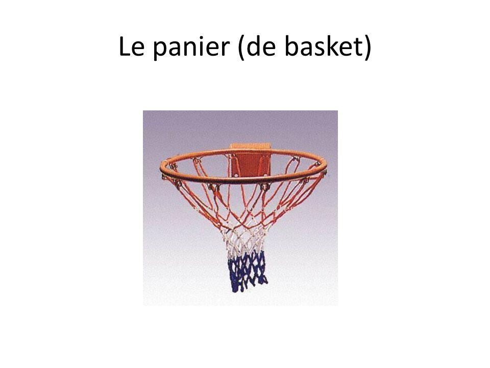 Le panier (de basket)