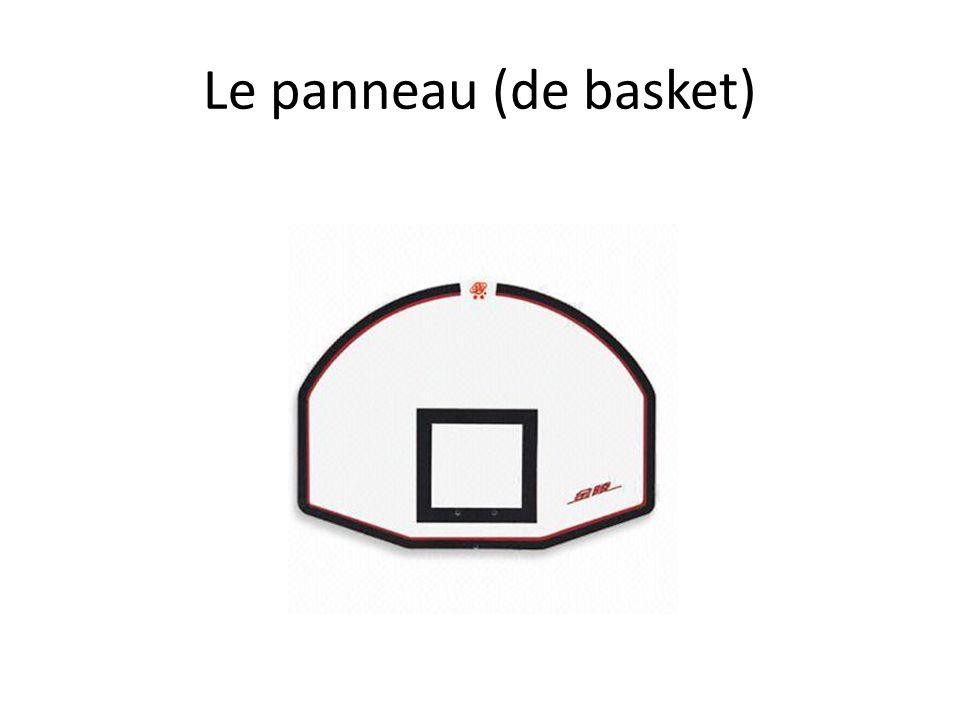Le panneau (de basket)