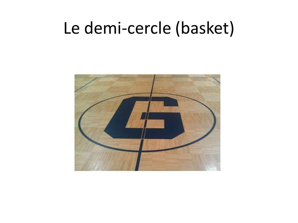 Le demi-cercle (basket)