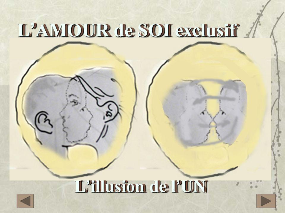 L'AMOUR de SOI exclusif ou L'illusion de l'UN L'AMOUR de SOI exclusif ou L'illusion de l'UN