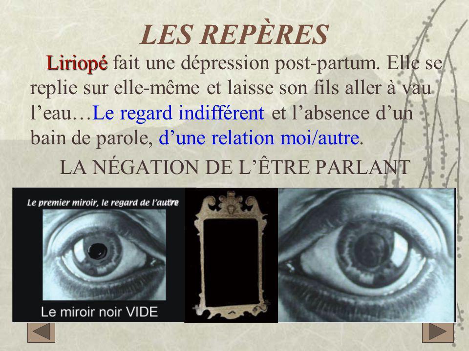 LES REPÈRES Liriopé Liriopé fait une dépression post-partum.