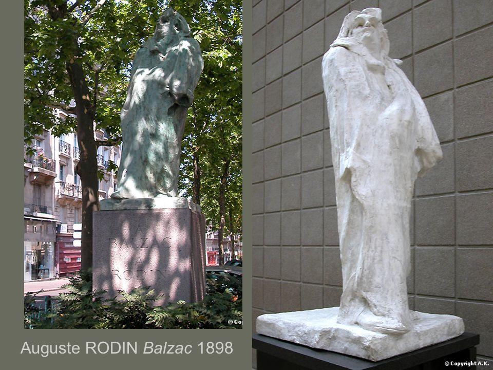 Auguste RODIN Balzac 1898
