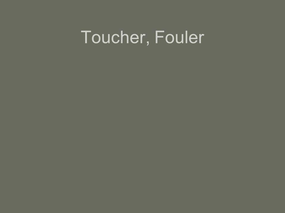 Toucher, Fouler