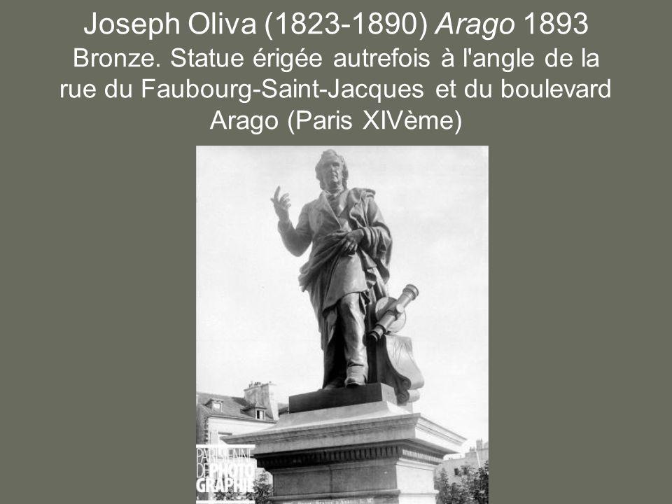 Joseph Oliva (1823-1890) Arago 1893 Bronze.