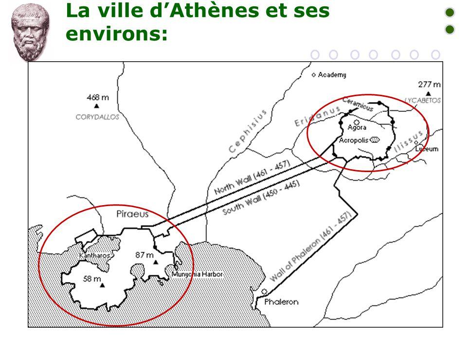 La ville d'Athènes et ses environs: