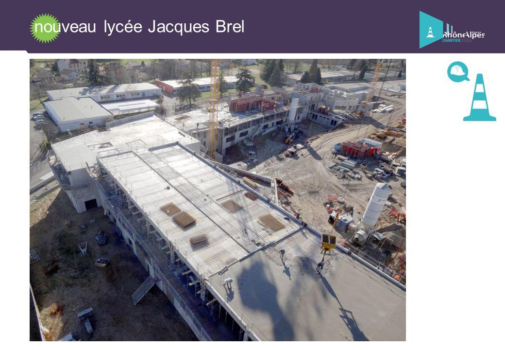 nouveau lycée Jacques Brel