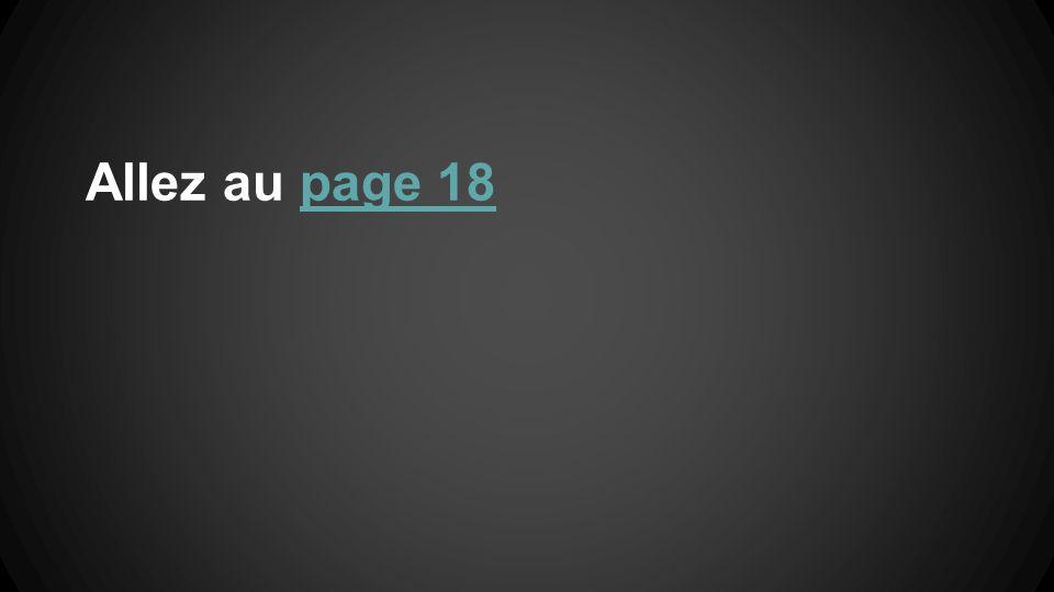 Allez au page 18page 18