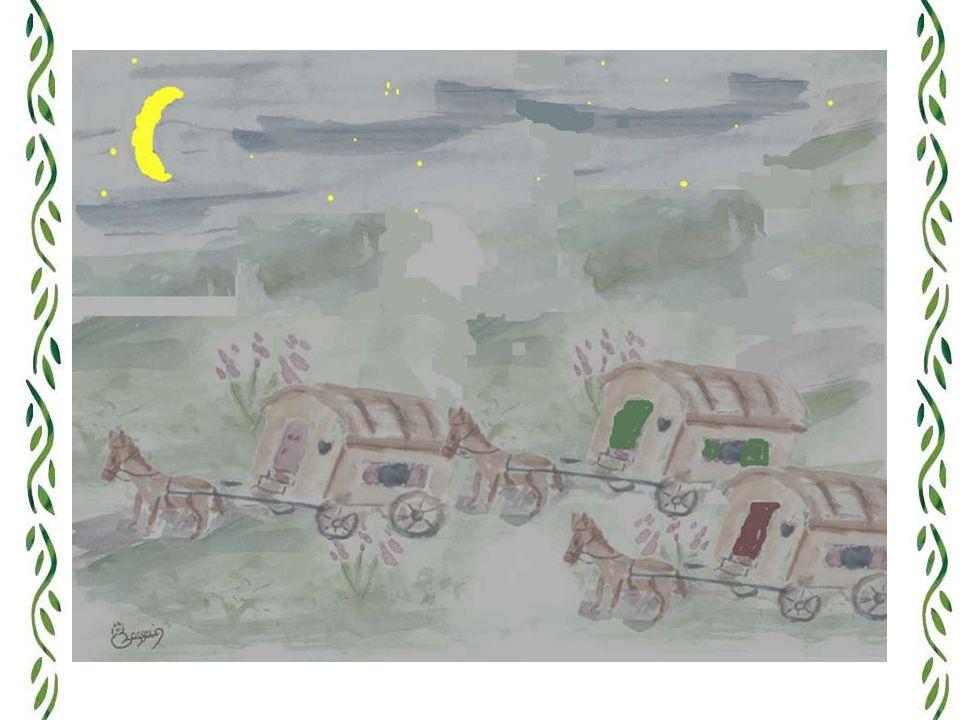 Quand la nuit s en va sans lune La braise s éteint devient brune Les roulottes aux ombres qui fument Veillent sur le camp de fortune Et s enfuit l heure des gitans (ter)