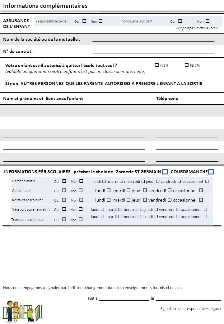 Année scolaire 2014 / 2015 Écoles : Maurice Mary et Courdemanche Tél : 0232324003 ( St Germain) Tel: 0237481452 ( Courdemanche) Mel : 0270885r@ac-rouen.fr0270885r@ac-rouen.fr Mel: 0270868x@ac-rouen.fr0270868x@ac-rouen.fr Site : http://mary-eco.spip.ac-rouen.fr/ REPRÉSENTANT LÉGAL : (NOM Prénom qualité) de l'enfant : (NOM Prénom Classe) AUTORISATION DE MISE EN LIGNE DE PHOTOGRAPHIES, D'ENREGISTREMENTS SONORES ET VIDEOS, DE DESSINS, DE REALISATIONS SUR LE SITE INTERNET DE L'ECOLE, DE DIFFUSION SUR CEDEROM ET SUR LES CAHIERS DE VIE Autorisation de diffusion Représentations photographiques, enregistrements sonores et vidéos Sous réserve de préserver l'intimité de sa vie privée, vous autorisez l'Ecole Maurice Mary et l'Ecole de Courdemanche dans le cadre de ses projets, pour la durée de la présente année scolaire, à reproduire et à diffuser ces photographies ou ces enregistrements sans contrepartie financière pour diffusion au sein de la classe ou de l'école, diffusion sur le site Internet de l'école, diffusion sur tous supports numériques (cédérom, dévédérom…) à destination des familles des élèves, des personnels de l'Éducation Nationale, représentation sur grand écran ou sur panneaux d'affichage dans toute manifestation scolaire, culturelle ou municipale (kermesse, salon du livre…).