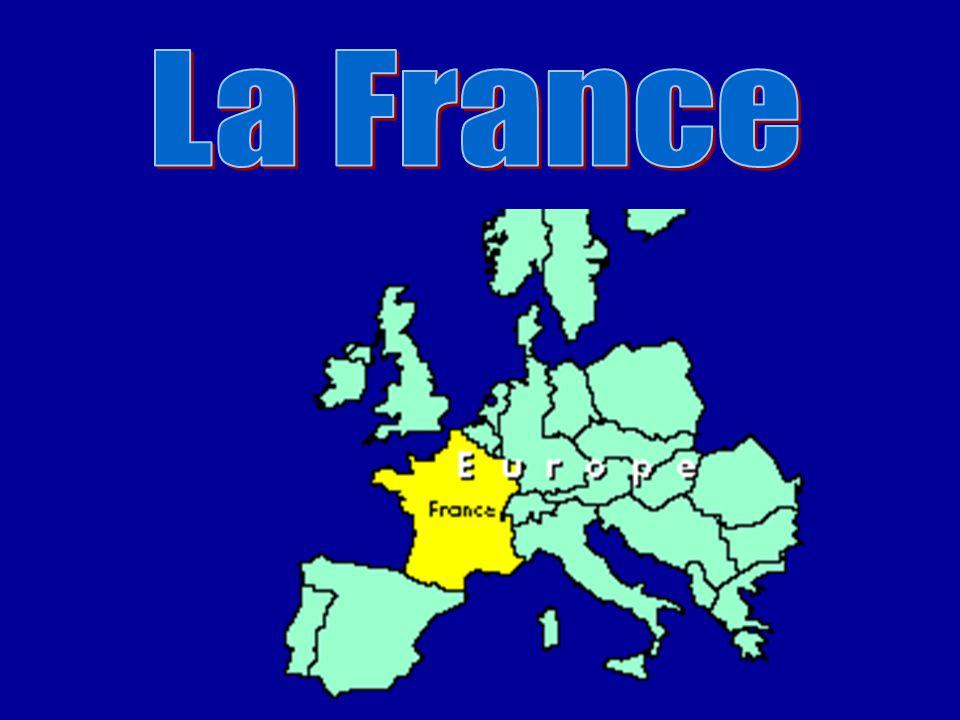 Une carte de la France