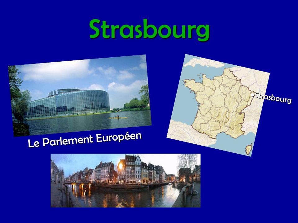 Strasbourg •Strasbourg Le Parlement Européen
