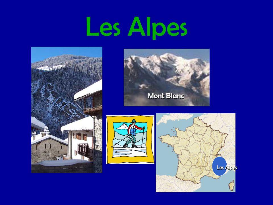 Les Alpes Mont Blanc Les Alpes