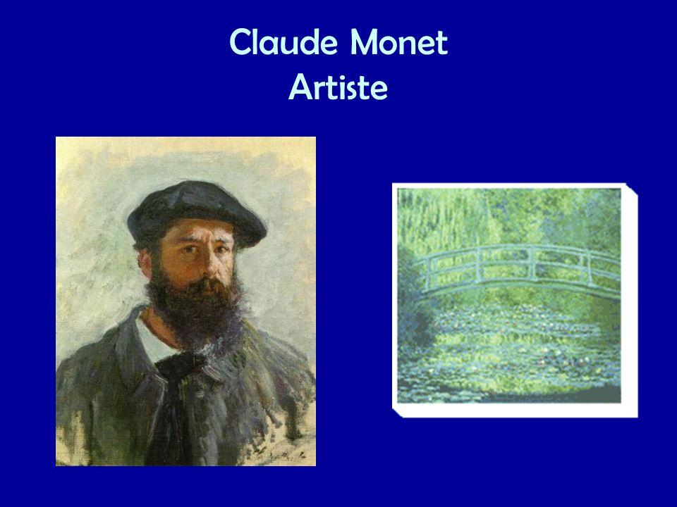 Claude Monet Artiste
