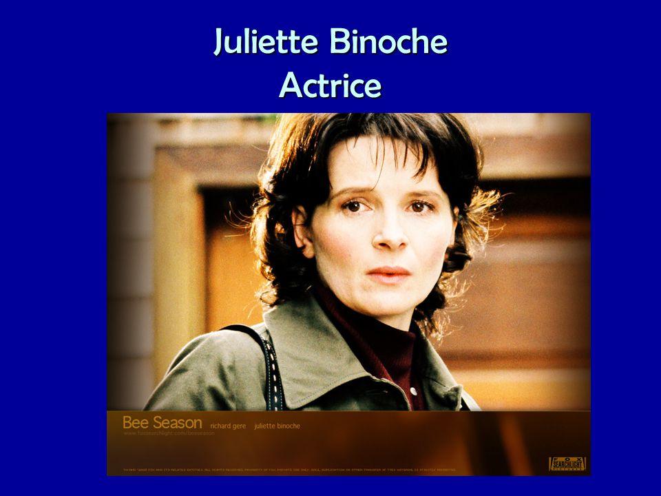 Juliette Binoche Actrice
