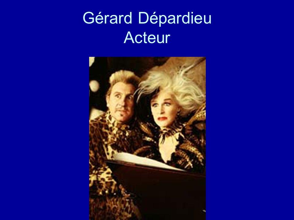 Gérard Dépardieu Acteur