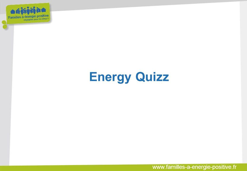 www.familles-a-energie-positive.fr ENERGY QUIZZ  12 questions pour tester vos éco- gestes citoyens !