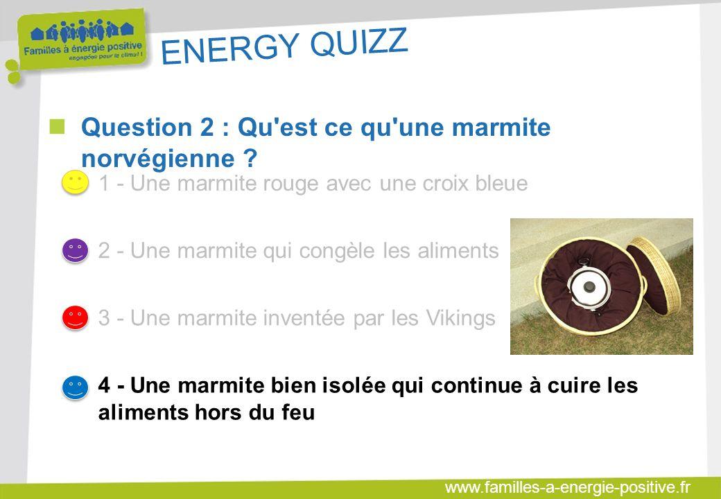 www.familles-a-energie-positive.fr ENERGY QUIZZ  Question 8 : Combien représente le budget énergie moyen d'un ménage aveyronnais (hors transport) .