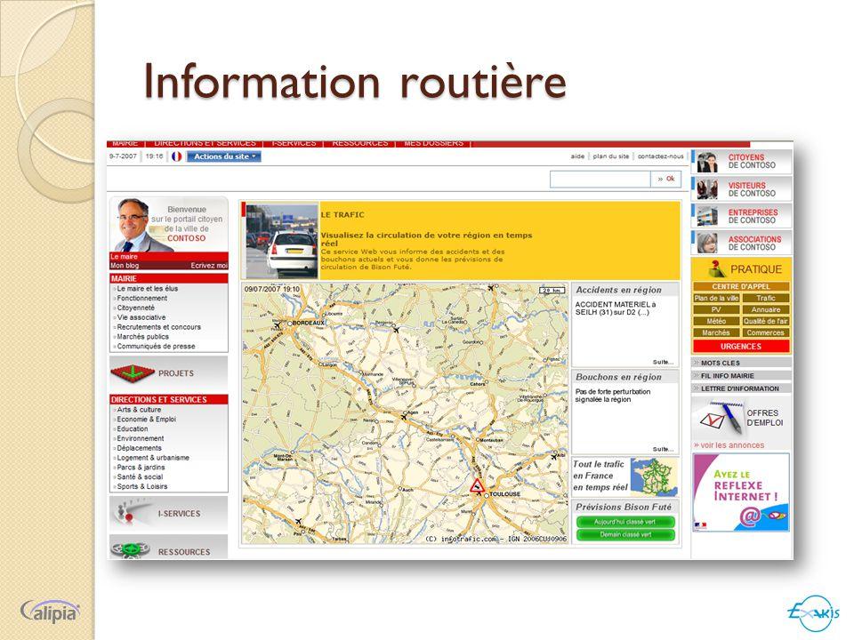 Information routière