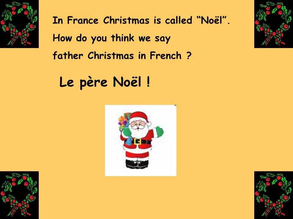 Les enfants écrivent une lettre au père Noël …. ….pour recevoir les cadeaux de Noël gleroux