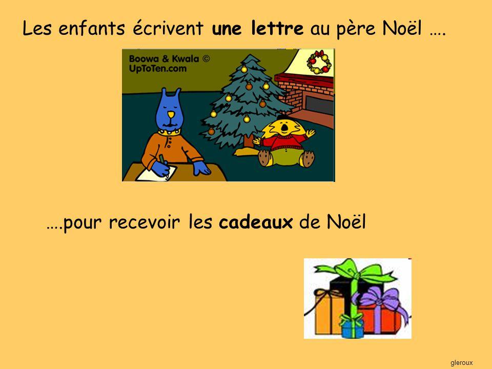 Je voudrais une bicyclette, un téléphone et un chien pour Noël Merci Sophie gleroux