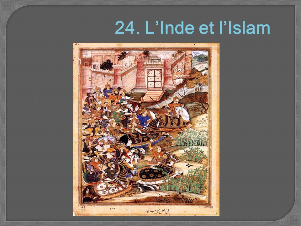 24. L'Inde et l'Islam