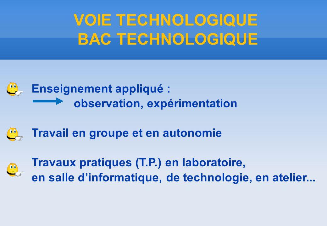 STI2D SCIENCES ET TECHNOLOGIES DE L'INDUSTRIE ET DU DEVELOPPEMENT DURABLE LA VOIE TECHNOLOGIQUE INNOVATION TECHNOLOGIQUE ET ECO-CONCEPTION ITEC Conception et fabrication de produits industriels 4 SPECIALITES SYSTEME D'INFORMATION ET NUMERIQUE SIN ENERGIES ET ENVIRONNEMENT EE ARCHITECTURE ET CONSTRUCTION AC Electronique Bâtiment- Travaux publics Energie