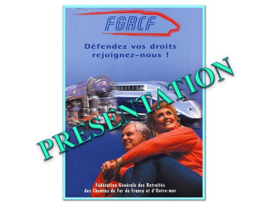 La fédération générale des retraités des chemins de fer  Elle s'est opposée au nouveau statut des caisses de prévoyance et de retraite QU'AVONS-NOUS FAIT .