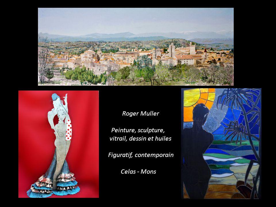 Roger Muller artiste à Celas. Mons