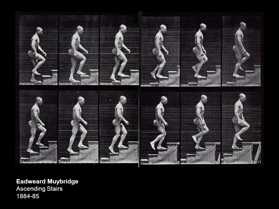 Eadweard Muybridge Ascending Stairs 1884-85