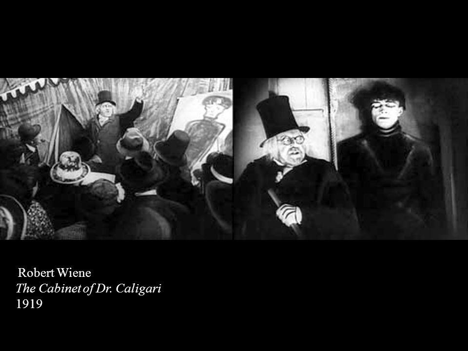 Robert Wiene The Cabinet of Dr. Caligari 1919