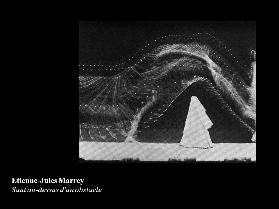 Etienne-Jules Marrey Saut au-dessus d'un obstacle
