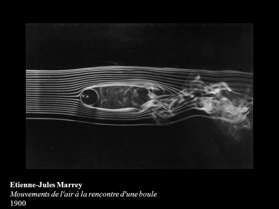 Etienne-Jules Marrey Mouvements de l'air à la rencontre d'une boule 1900