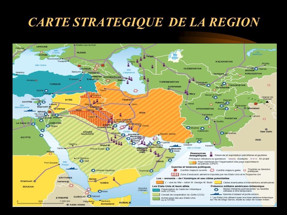CARTE STRATEGIQUE DE LA REGION